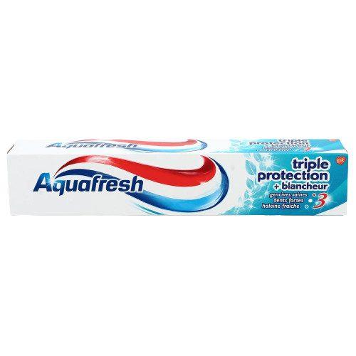Aquafresh fogkrém 75 ml - Triple Protection Blancheur