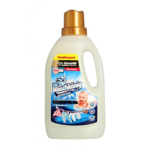 Der Waschkönig mosógél 1,625 l 46 mosás - sensitive