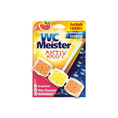 Wc Meister wc tisztító block 45 g - grapefruit