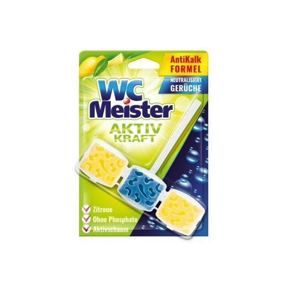 Wc Meister wc tisztító block 45 g - lemon