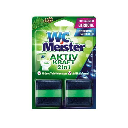 Wc Meister wc tartálytabletta twinpack 2*50 g - forest
