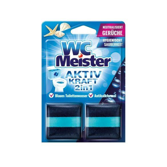 Wc Meister wc tartálytabletta twinpack 2*50 g - ocean