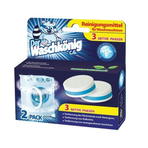 Der Waschkönig mosógép tisztító tabletta 2 db