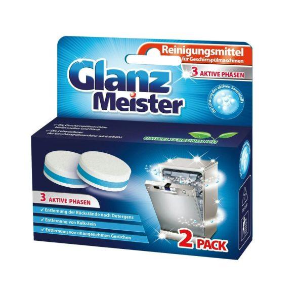Glanz Meister mosogatógép tisztító tabletta 2 db