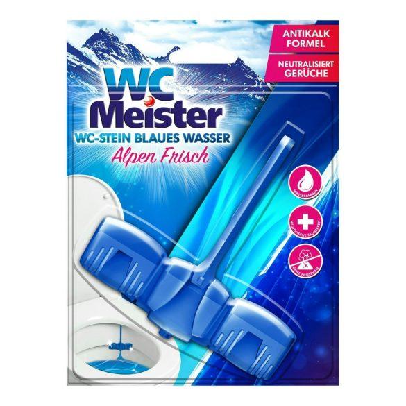 WC Meister színező wc tisztító block 45 g - alpen frisch