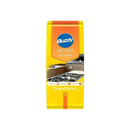 Buzzy nedves törlőkendő 48 db - konyhai