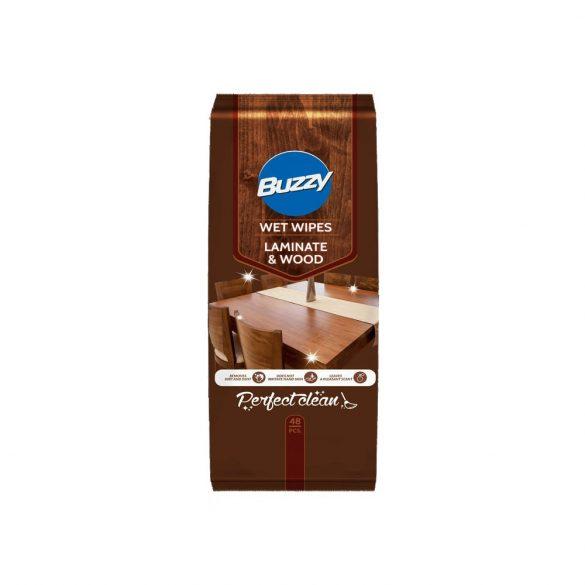 Buzzy nedves törlőkendő 48 db - bútor ápoló és tisztító