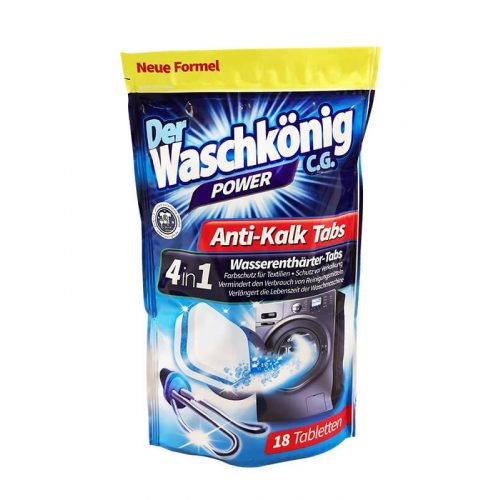 Der Waschkönig vízlágyító tabletta mosógéphez 18 db