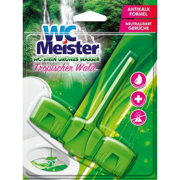 WC Meister színező wc tisztító block 45 g - trópusi erdő