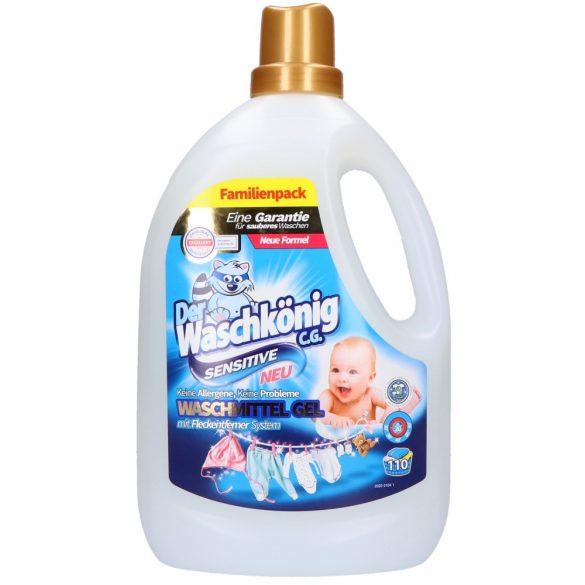 Der Waschkönig mosógél 3,305 l 110 mosás - sensitive