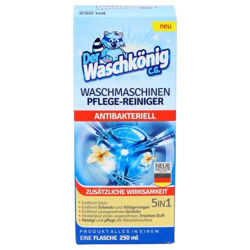 Der Waschkönig antibakteriális mosógép tisztítófolyadék 250 ml