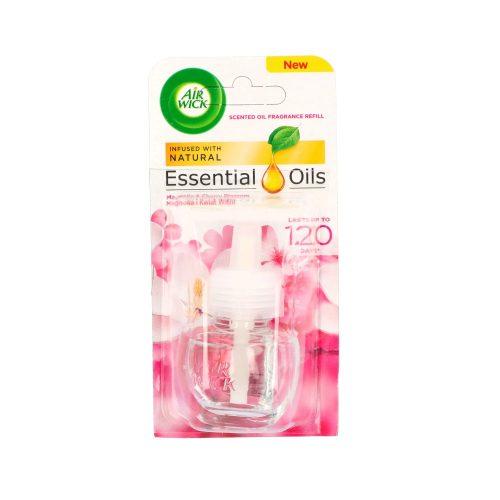 Air Wick elektromos illatosító ut. 19 ml - Essential oil Magnolia&Cherry Blossom