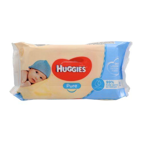 Huggies törlőkendő 56 db - Pure