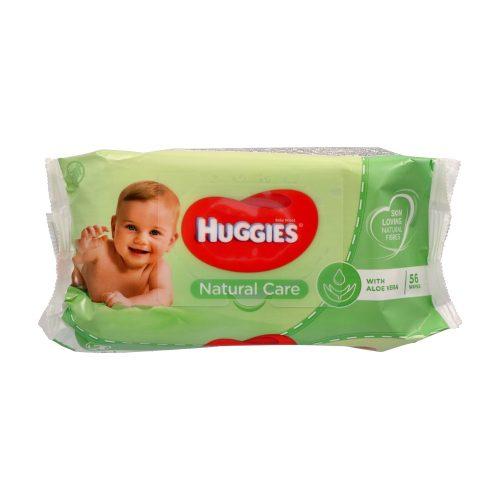 Huggies törlőkendő 56 db - Natural Care