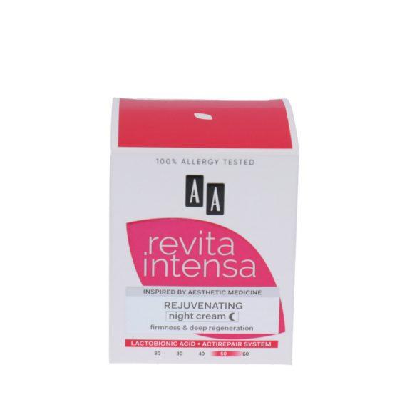 AA Revita Intensa 50+  bőrfiatalító éjszakai krém 50 ml