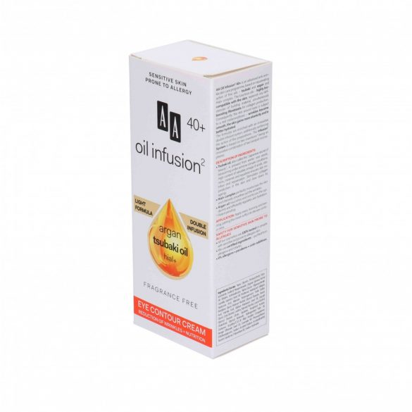 AA Oil Infusion2 40+ szemránckrém 15 ml