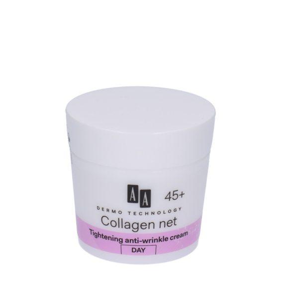 AA DT Collagen net builder 45+ szűkítő ránctalanító nappali krém 50 ml