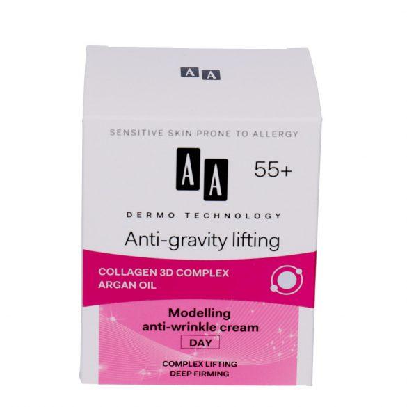 AA DT Anti-gravity lifting 55+ formáló ránctalanító nappali krém 50 ml
