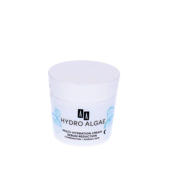 AA Hydro Algae Blue tápláló éjszakai krém kombinált és normál bőrre 50 ml
