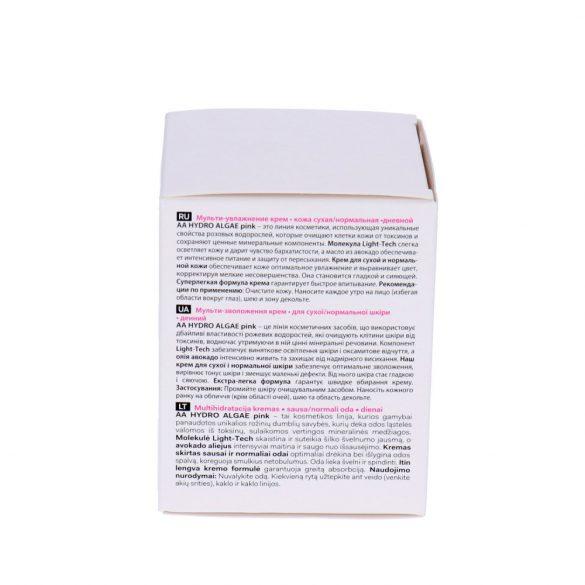 AA Hydro Algae Pink hidratáló korrigáló nappali krém száraz és normál bőrre 50 m