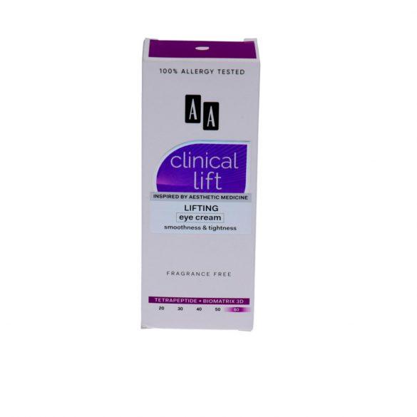 AA Clinical Lift Lifting 60+ feszesítő szemránckrém 50 ml