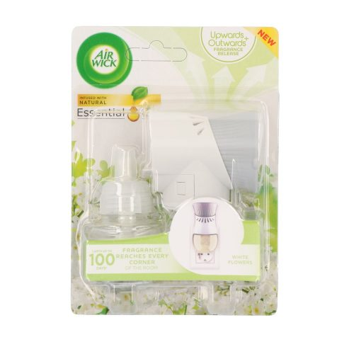 Air Wick elektromos ill. készülék+ut. 19 ml -  Essential oils White Flowers