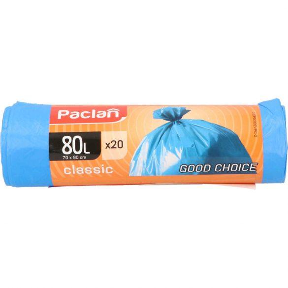 Paclan Classic szemeteszsák 80l (*20zsák) 70cm*90cm 20my