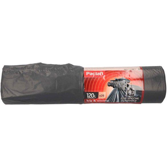 Paclan Big&Strong fekete szemeteszsák 120l (*25zsák) 70cm*110cm 40my
