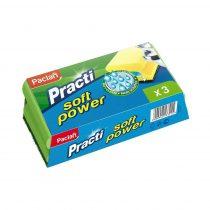 Paclan Practi Soft Power szivacs 3 db