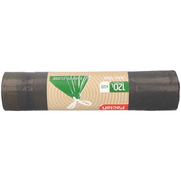 Paclan Ecoline zárószalagos szemeteszsák 120l (*10zsák) 70cm*100cm 30my