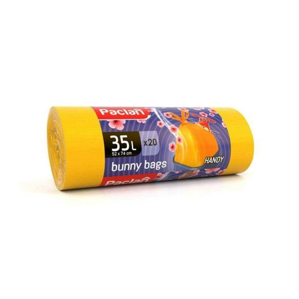 Paclan Bunny Bags illatos szemeteszsák 35l (*20zsák) 53cm*74cm 15my