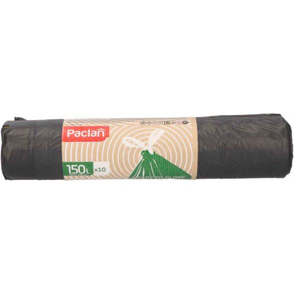 Paclan Ecoline zárószalagos szemeteszsák 150l (*10zsák) 76cm*100cm