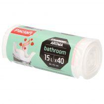 Paclan higiéniai illatosított pipere szemeteszsák 15 l (*40zsák) 44cm*51cm 8my