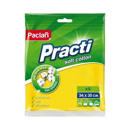 Paclan Practi Soft Cotton háztartási kendő 5 db 34cm*35cm 280my