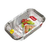 Paclan alu-sütőforma Lasagne fedőfóliával 3 db 25cm*18cm