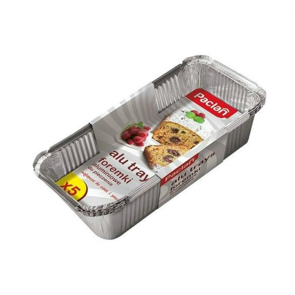 Paclan alu-sütőforma 5 db 23cm*10cm