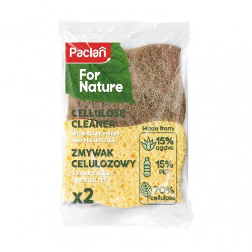 Paclan for Nature agave celulóz szivacs 2 db