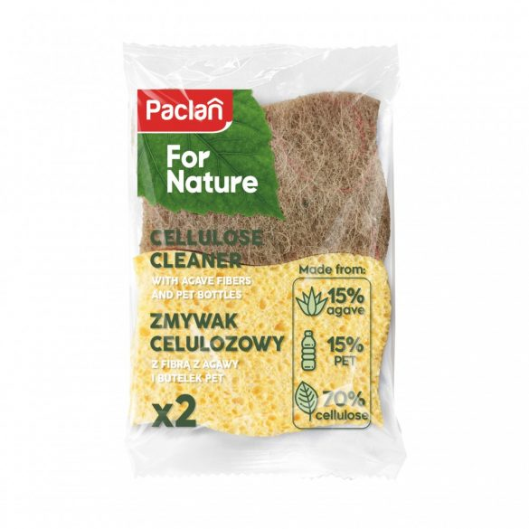 Paclan for Nature agave celulóz szivacs 2 db
