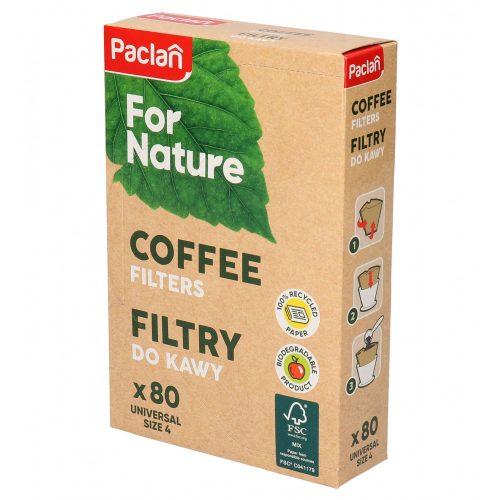 Paclan for Nature kávéfilter univerzális méret (4-es) 80 db