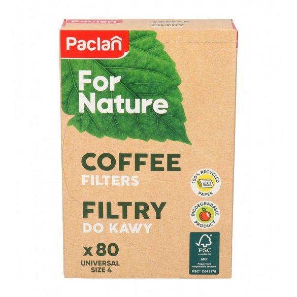 Paclan for Nature kávéfilter univerzális méret 80 db