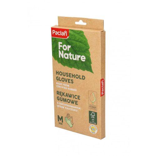 Paclan for Nature kényelmes háztartási gumikesztyű - M
