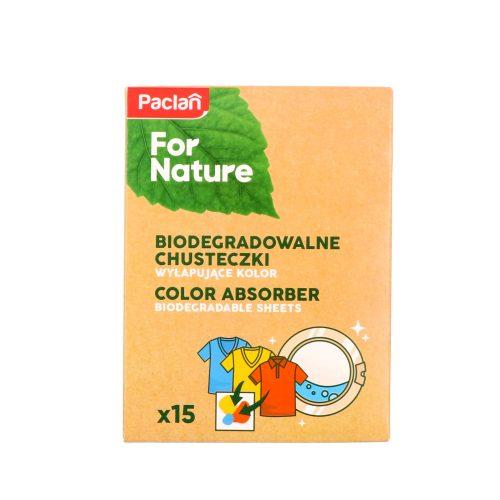 Paclan for Nature színvédő kendő színes ruhákhoz 15 db