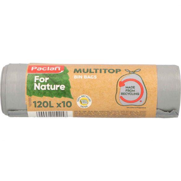 Paclan for Nature Multi Top szemeteszsák 120l (*10zsák) 110x70cm 25my