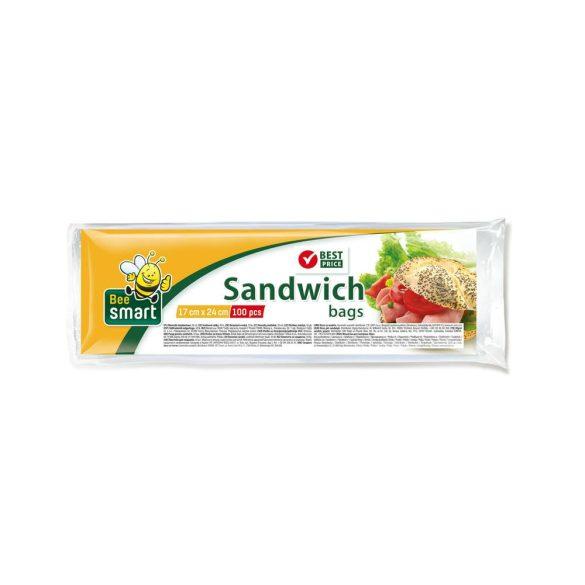 Bee Smart szendvicszacskó 100 db 17cm*24cm 5my