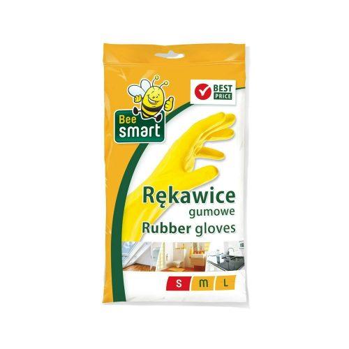 Bee Smart gumikesztyű - S 250my