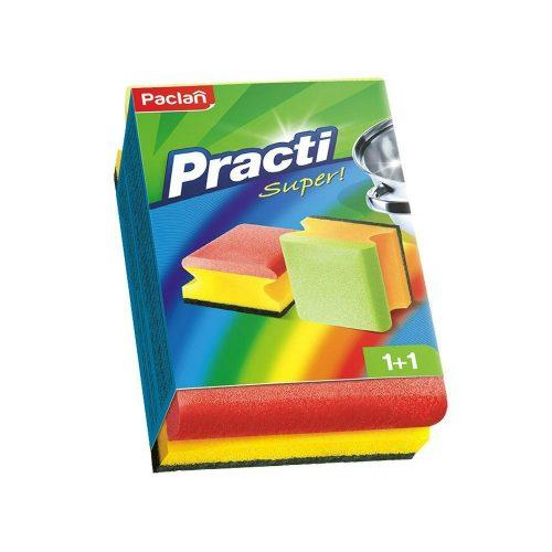 Paclan Practi Super formázott mosogatószivacs 2 db