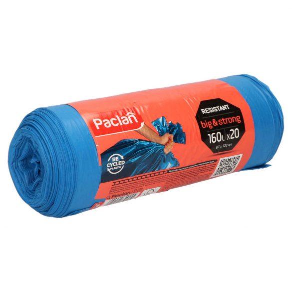 Paclan Big&Strong kék szemeteszsák 160l (*20zsák) 87cm*120cm 21my