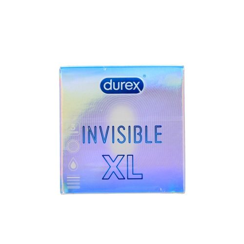 Durex óvszer 3 db - Invisible XL