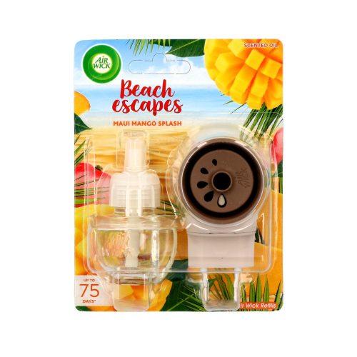 Air Wick elektromos ill. készülék+ut. 19 ml - Beach Escapes Maui Mango Splash