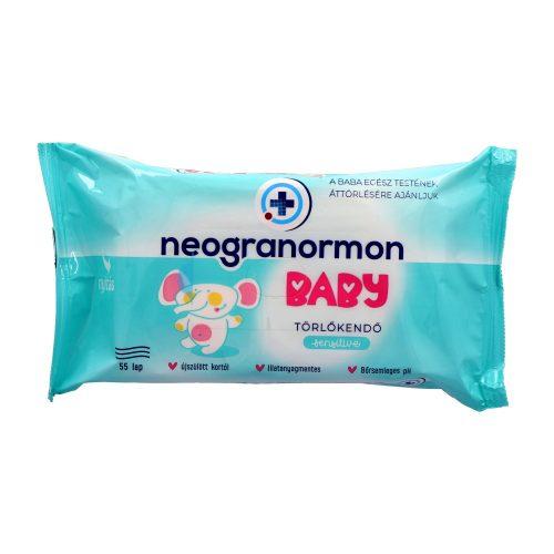 Neogranormon Baby törlőkendő 55 db - Sensitive